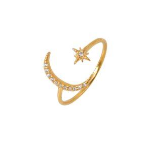 Δαχτυλίδι Moon Star