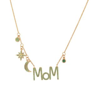 Κολιέ Dear Mom Multi Charms