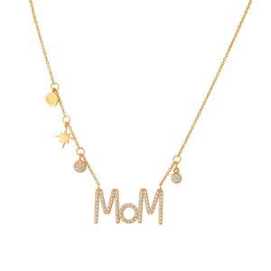 Κολιέ Dear Mom Multi Charms
