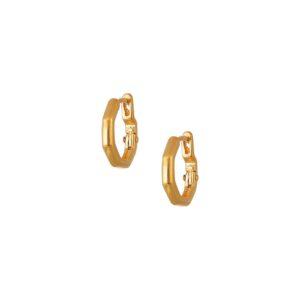 Σκουλαρίκια Poligon Mini Hoops