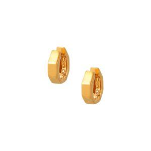 Σκουλαρίκια Poligon Hoops